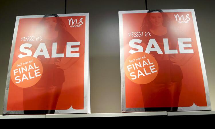 sale shopping at MS Mode (Dutch vlog)