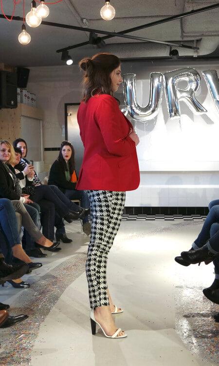 collectiepresentatie bij MS mode